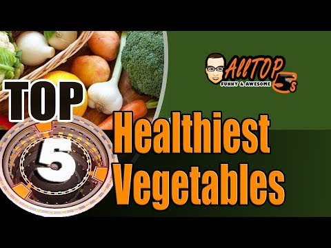 Top 5 Healthiest Vegetables by AllTop5s