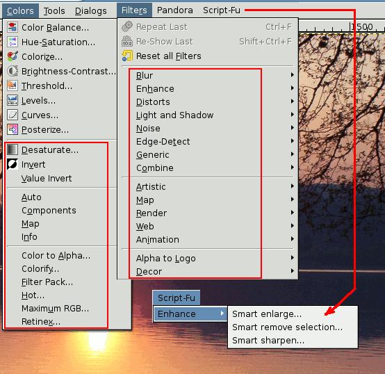 Dove trovare gli script che dipendono dal tipo di immagine