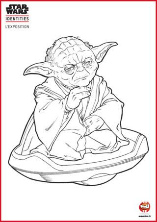 Dessin De Yoda Colorier Les Enfants Marnfozinecom