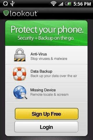 LookOut antivirus 2 ¡Alerta, nuevo Virus (Troyano) en Android!