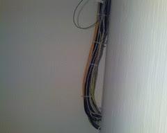 Bundle of  A/V cables