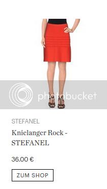 STEFANEL Knielanger Rock