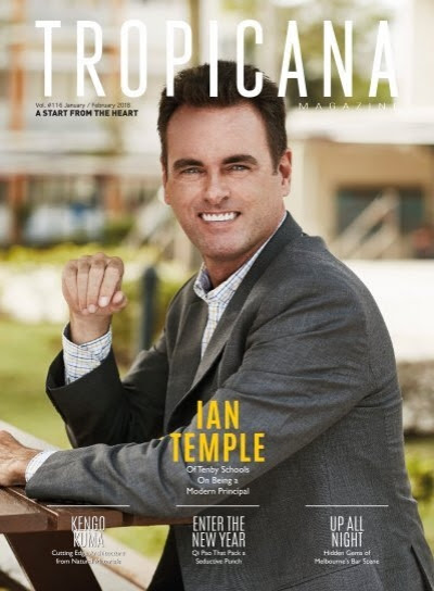 TROPICANA MAGAZINE: JAN-FEB 2018 (A Start From The Heart)