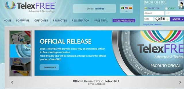 Telexfree foi condenada a devolver dinheiro de divulgadores (Foto: Divulgação/Telexfree
