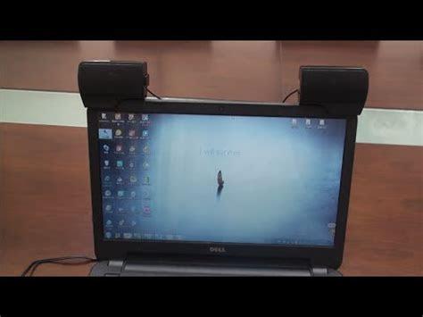 mini portable usb stereo speaker soundbar  notebook