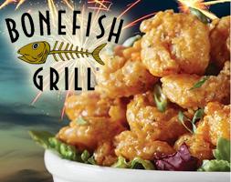 Bonefish Grill FREE Bang Bang Shrimp, Chicken or Tacos at Bonefish Grill