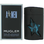 Angel by Thierry Mugler (A*men) 3.4oz EDT Refillable Rubber Spray men