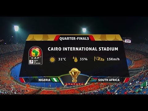 AFCON 2019 | Nigeria vs South Africa | Highlights