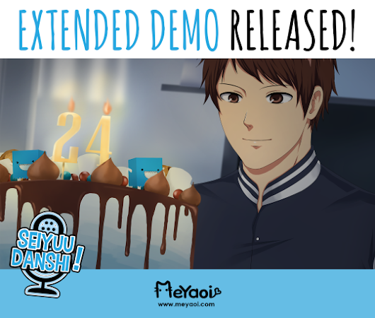 Extended demo for Seiyuu Danshi, 18+ BL/Yaoi dating sim is finally released!