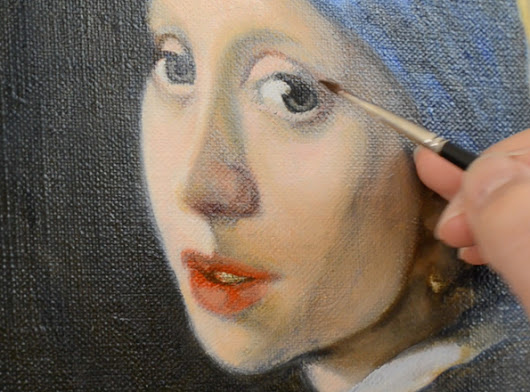 9 Easy Steps to Recreating a Masterpiece Painting