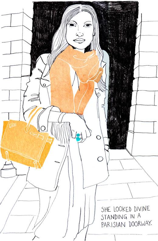 woman w. scarf