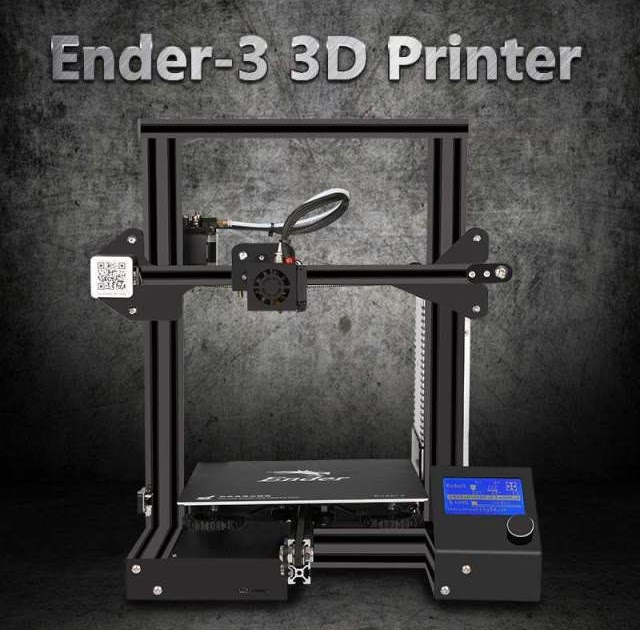 Best Offers Creality Ender-3 V-slot I3 3D Printer Kit MK10 Extruder