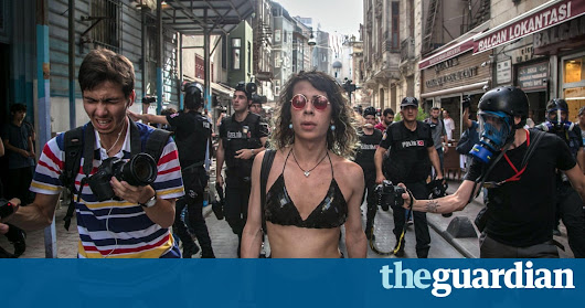 Police use teargas against LGBT activists in Istanbul | World news | The Guardian