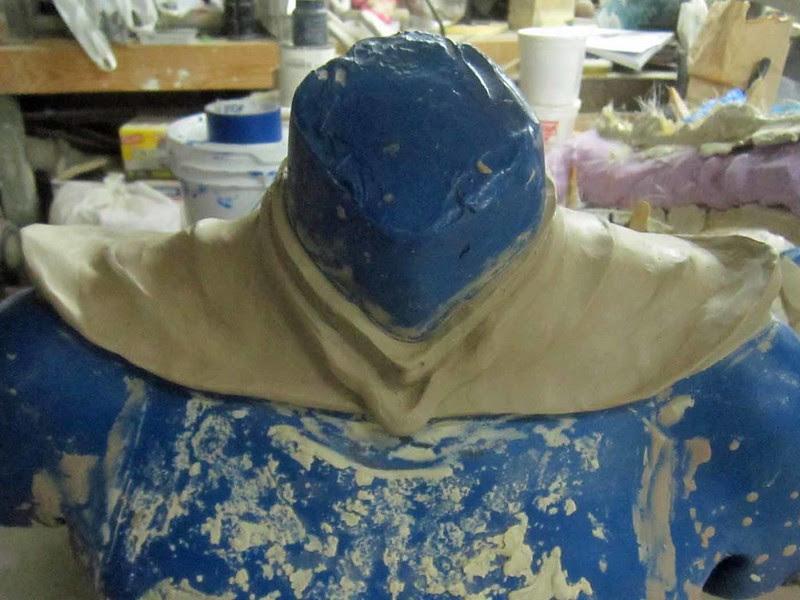 Collar Sculpt 80 Percent Done