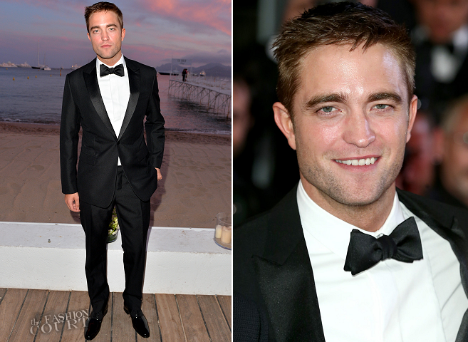 Robert Pattinson in Dior Homme | 'The Rover' Premiere - 2014 Cannes Film Festival