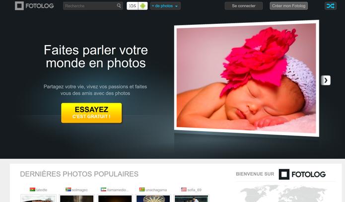 Fotolog teve seu site removido do ar junto com aplicativos para Android e iOS (Foto: Reprodução/Elson de Souza)