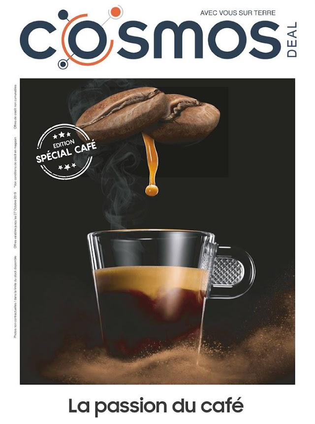 Catalogue COSMOS La passion du café Novembre 2019