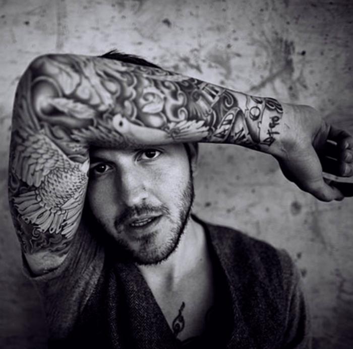 Black White Tattoos For Men Tattoo Love