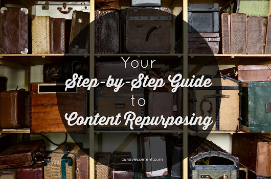 Your Step-by-Step Guide to Content Repurposing