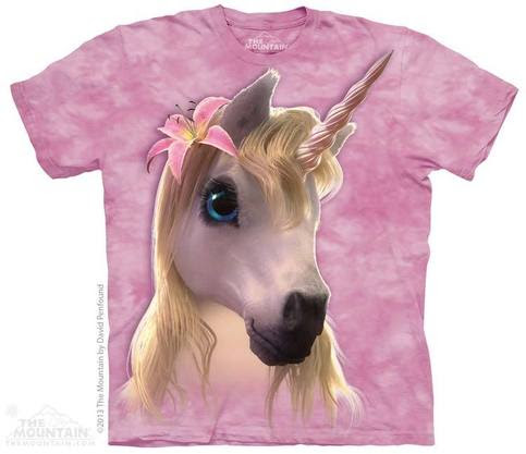 cutie pie unicorn women's t-shirt stonewashed multicolored graphic tee
