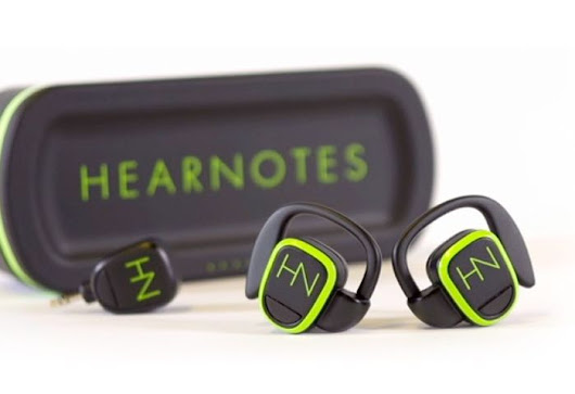 HearNotes Wireless Earbuds Offer Inductive Charging And Stereo Sound (video)