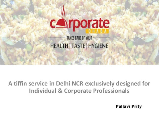 Corporate dhaba - A tiffin service in Delhi NCR