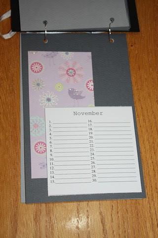 Bursdagskalender november
