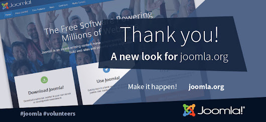 Joomla's Homepage Gets A Fresh Look