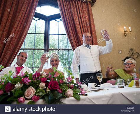 bride wedding toast speech stock  bride wedding