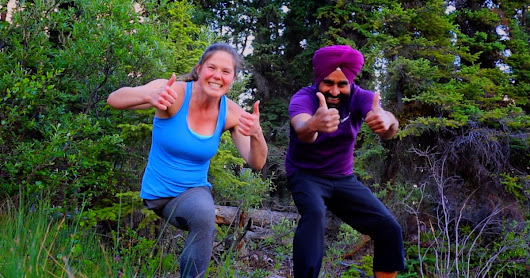 This Unlikely Pair Just Proved The Yukon Is The Ideal Place For Bhangra
