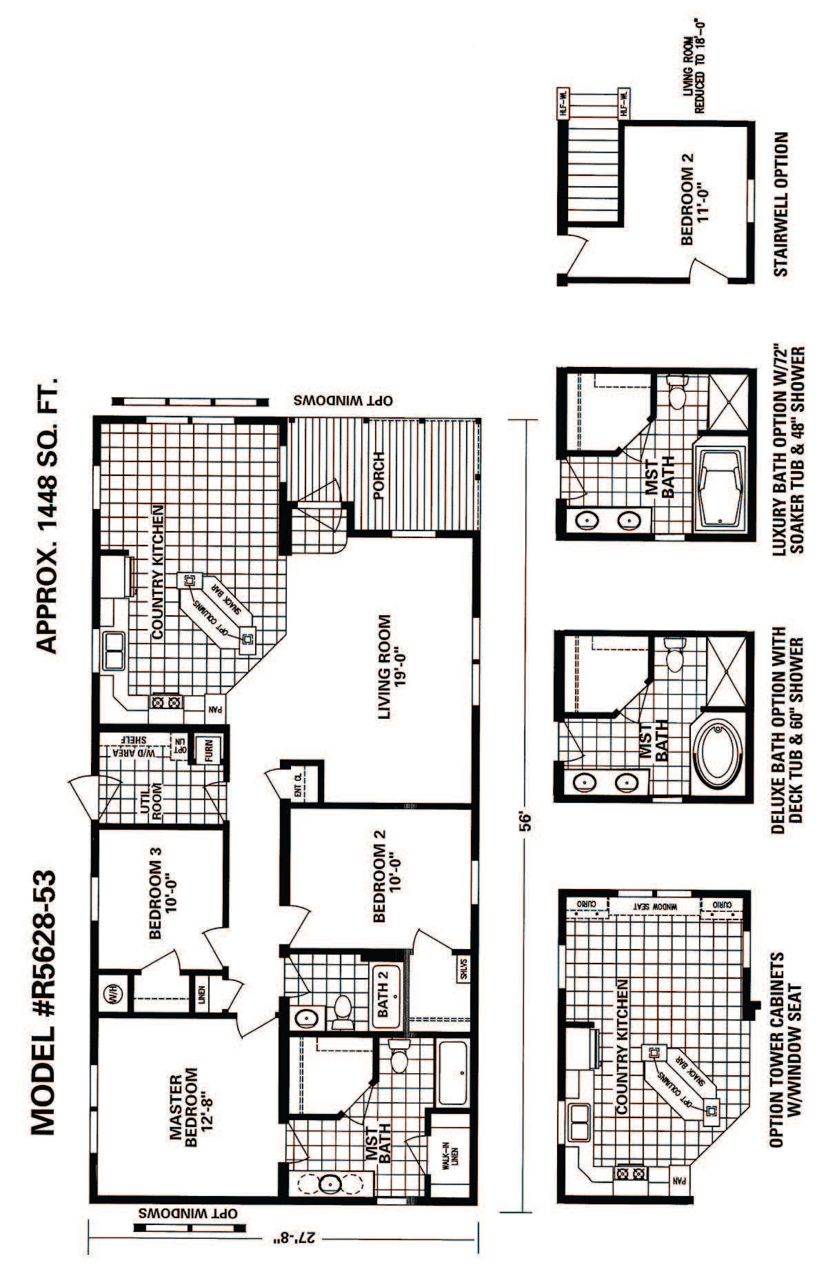 Schult Timberland 5628-53 | Excelsior Homes West, Inc.