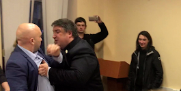 Putin's party using physical violence to cling to power after losing an election in Moscow