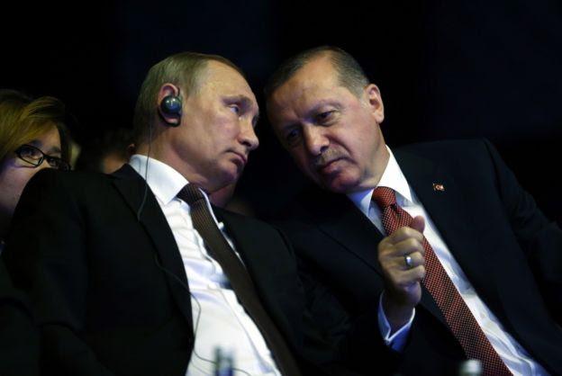 El turco Erdogan es uno de los nuevos aliados de Putin.
