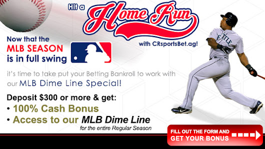Bet on MLB at CRsportsBet