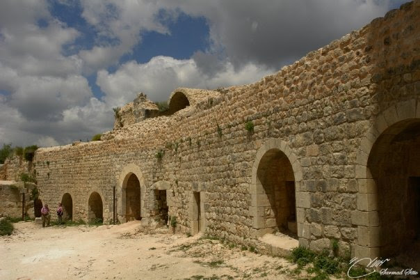 The historical palace of Saladin