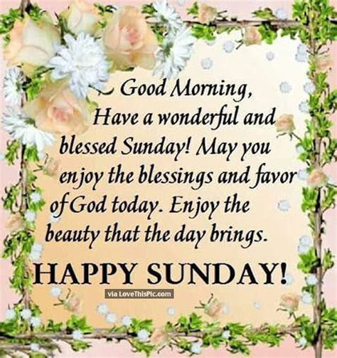 Happy Sunday Blessing Quotes