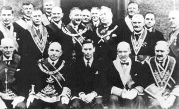 King George VI la Franc-Maçonnerie