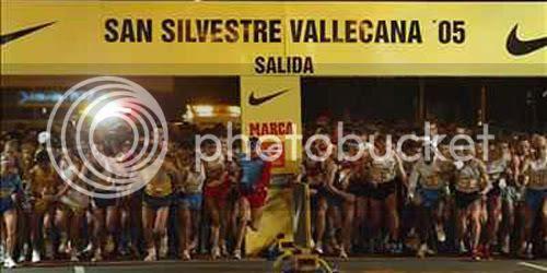 Salida de la San Silvestre Vallecana del pasado año