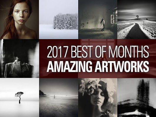 12 amazing creative artworks of 2017, Selection fom the best of months - Discovery, Bordeaux, HQ, France