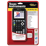 Texas Instruments TI-84 Plus CE Graphing Calculator, Black (Renewed) - Unlimited Cellular