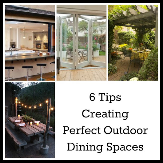 How to Create Fabulous Outdoor Eating Spaces - 6 Tips - Tradesmen.ie Blog