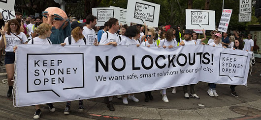 By The Numbers: The Keep Sydney Open Lockout Laws Rally