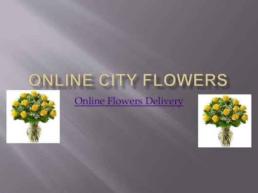 Online Flowers Delivery on Same Day - Online City Flower