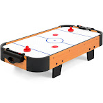 Best Choice Products 40-Inch Air Hockey Table w/ Electric Fan, 2 Sticks, 2 Pucks