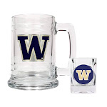 Non Metal Collegiate University Of Washington Shot Glass And Mug Set (Length=8.69) (Width=3.75) Gc2006