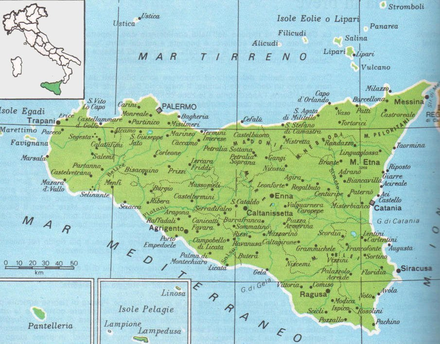 Cartina Della Sicilia Dettagliata.Cartina Politica Sicilia Da Stampare Top Farbbilder