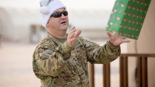 USO and FedEx Join to Bring Holidays for Heroes Downrange