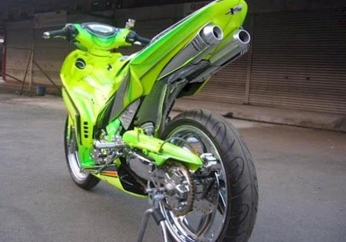 Poto Modif Yamaha Jupiter Mx Via Bp Blogspot