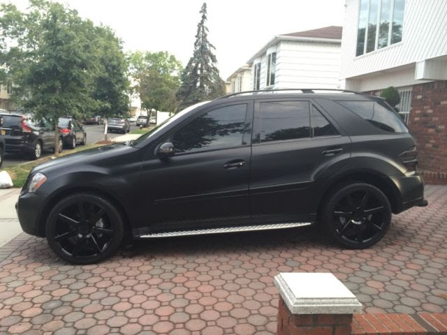 """MERCEDES BENZ ML500 ML 500 AMG WRAPPED 22"""" WHEELS EVERY ..."""