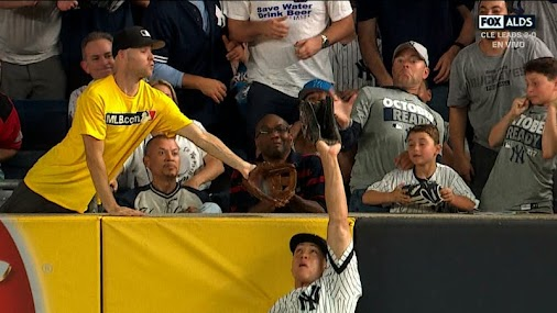 Aaron Judge Robs Home Run, Denies Zack Hample Baseball, Is Officially World's Greatest Athlete  http...
